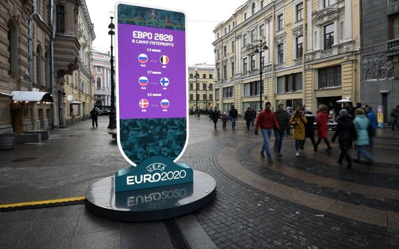 Евро-2020 на Крестовском острове